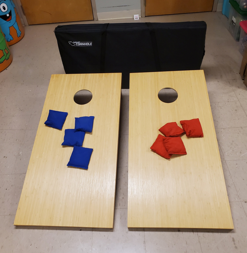 Picture of corn hole games
